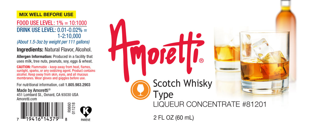 Scotch Whisky Type Liqueur Concentrate