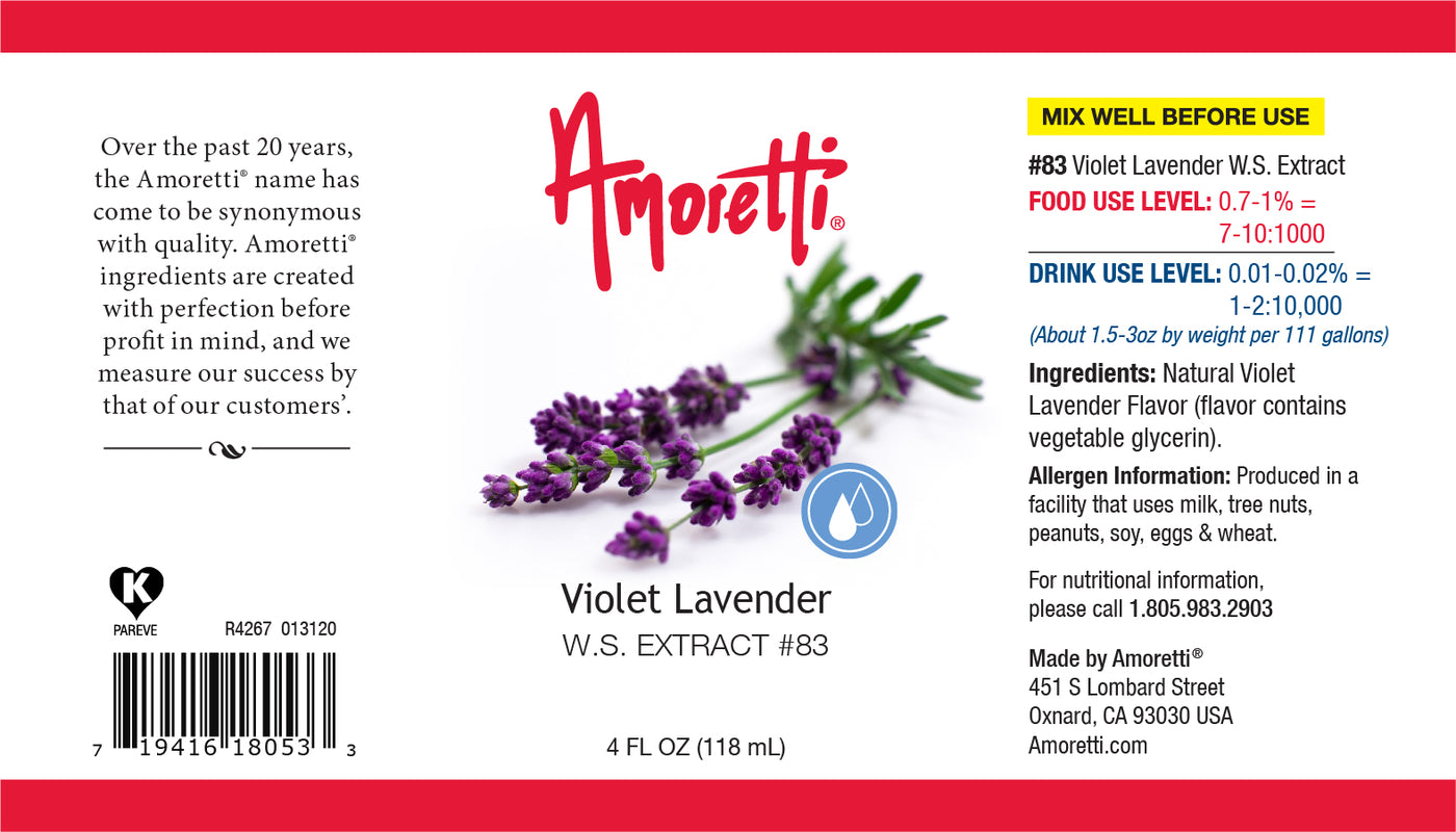 Violet Lavender Extract Water Soluble
