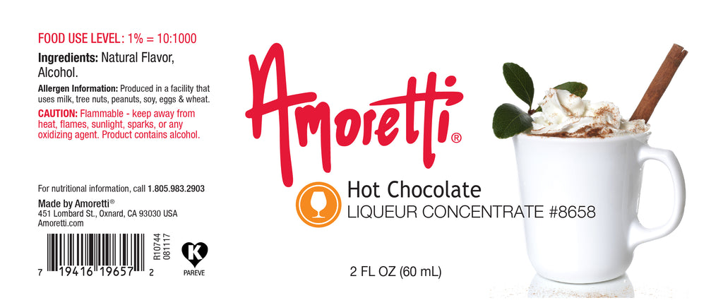 Hot Chocolate Liqueur Concentrate