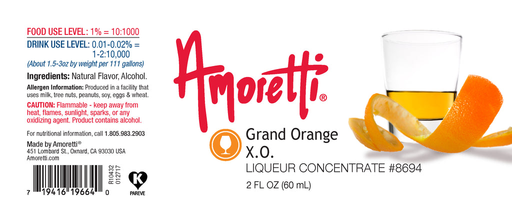 Grand Orange XO Liqueur Concentrate