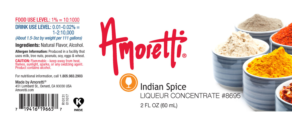 Indian Spice Liqueur Concentrate
