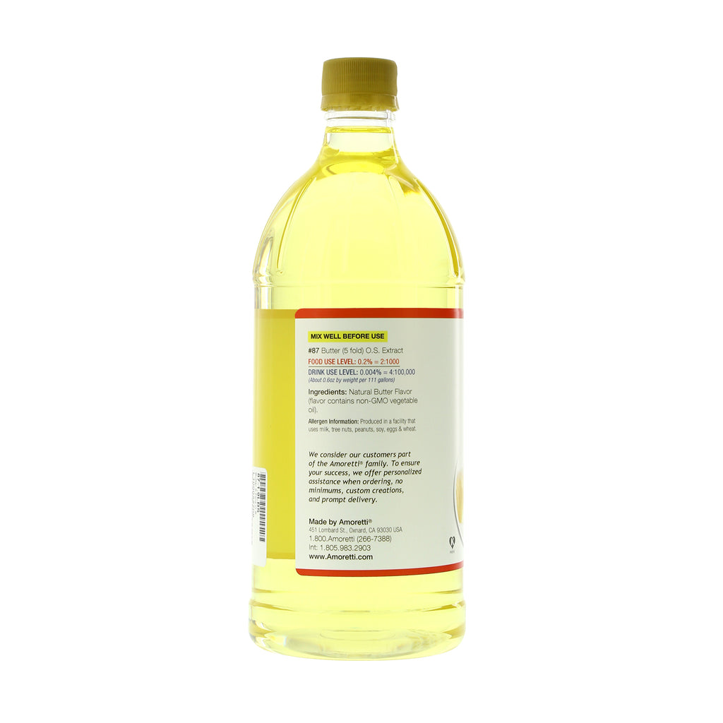 Butter Extract Oil Soluble