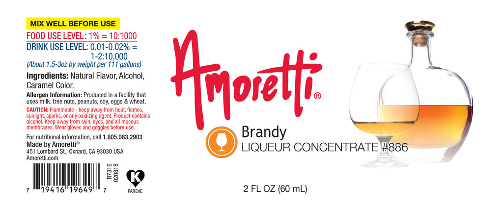 Brandy Liqueur Concentrate