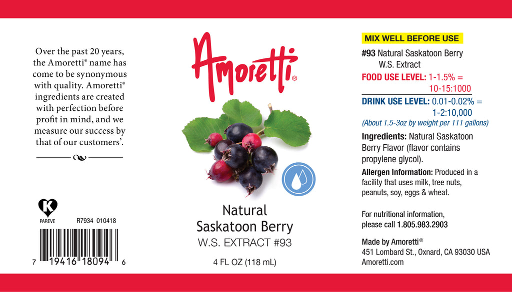 Natural Saskatoon Berry Extract Water Soluble