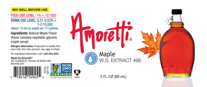 Maple Extract Water Soluble