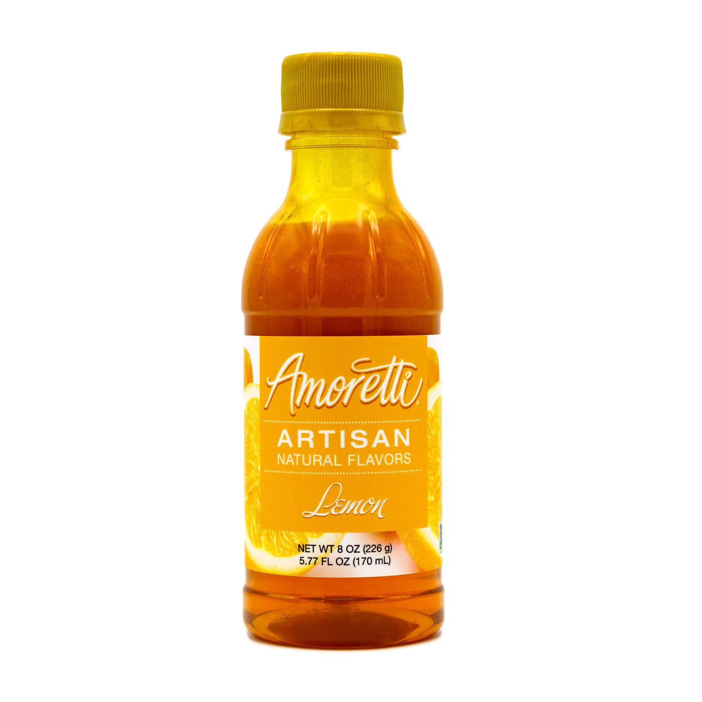 Amoretti's Natural Lemon Artisan is the best way to brighten up your recipes with a bold citrus flavor.