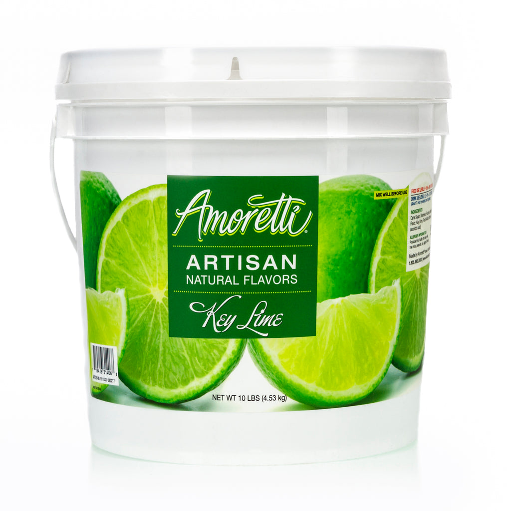 Amoretti Natural Key Lime Artisan Flavor