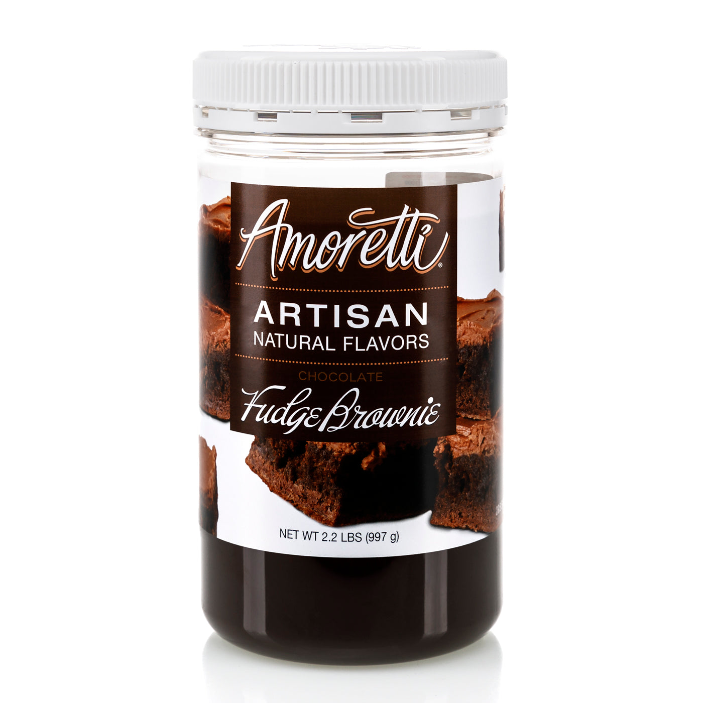 Natural Chocolate Fudge Brownie Artisan Flavor