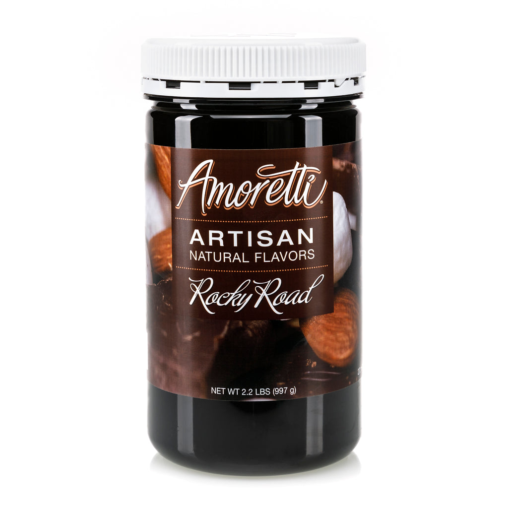 Natural Rocky Road Artisan Flavor