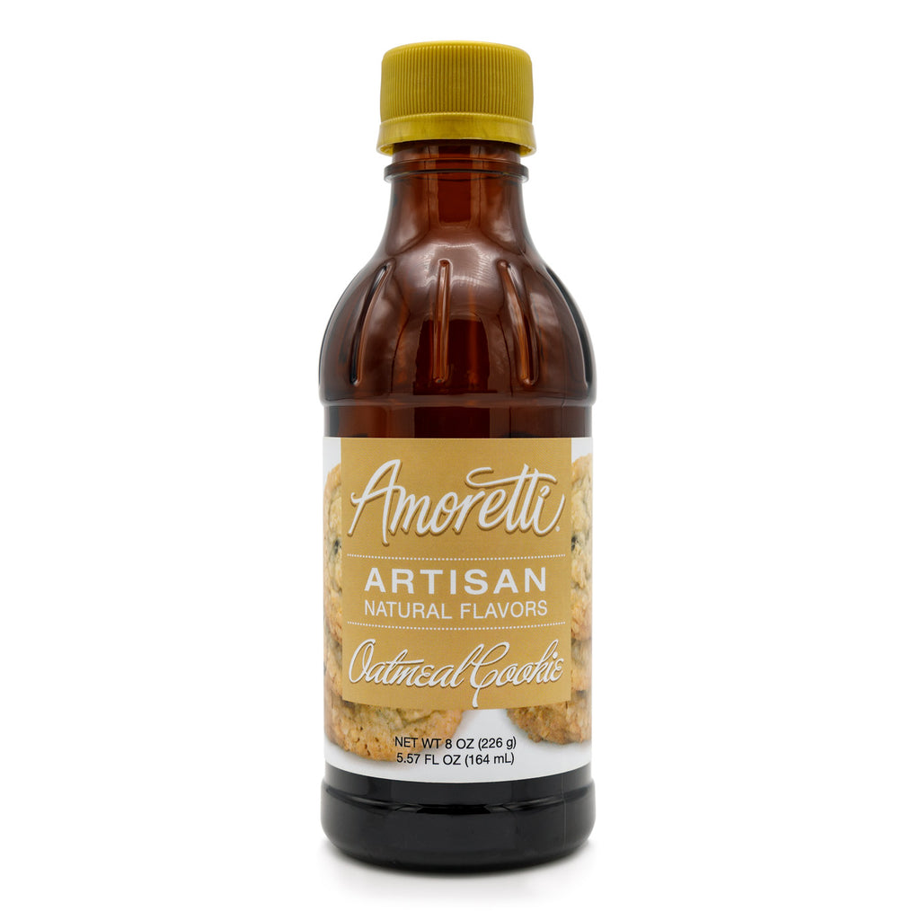 Natural Oatmeal Cookie Artisan Flavor