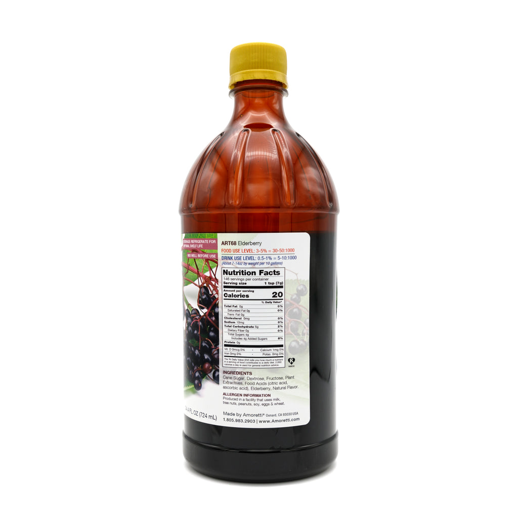 Natural Elderberry Artisan Flavor