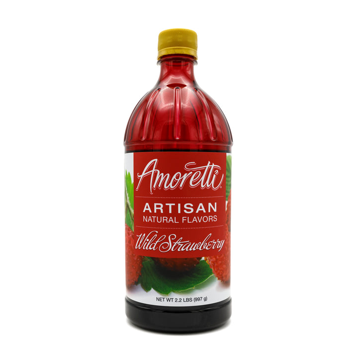 Natural Wild Strawberry Artisan Flavor