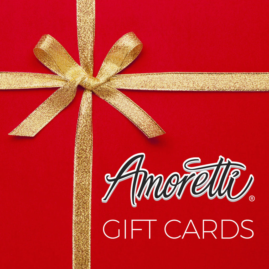 Give the gift of Amoretti with our Gift Cards