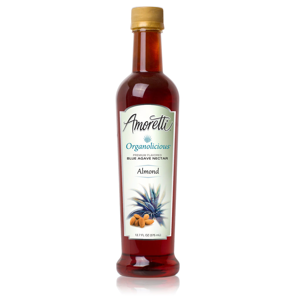 Amoretti Organolicious Almond Flavored Blue Agave Nectar