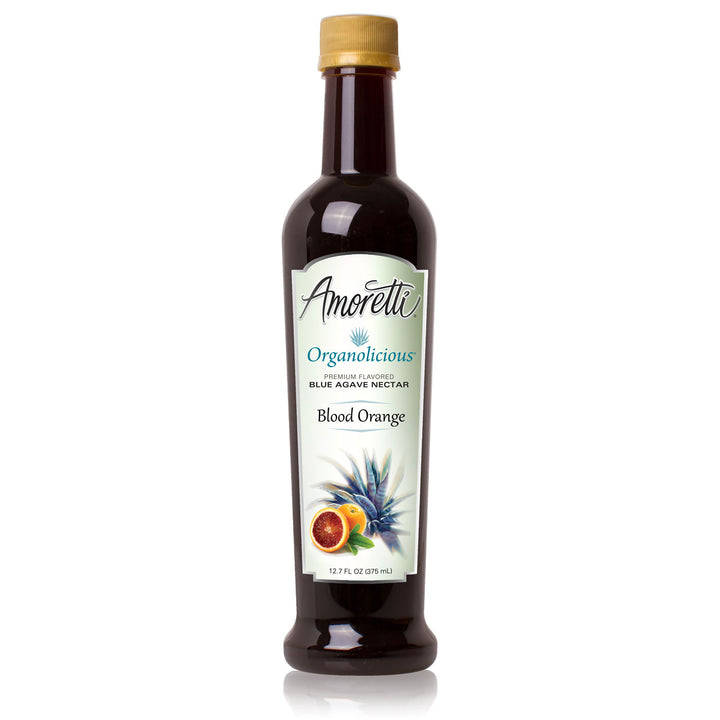 Amoretti Organolicious Blood Orange Flavored Blue Agave Nectar