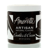 Amoretti Natural Cookies & Cream Artisan Flavor