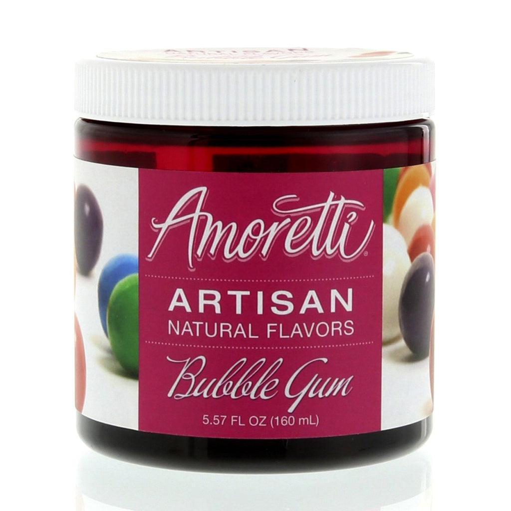 Amoretti Natural Bubble Gum Artisan Flavor