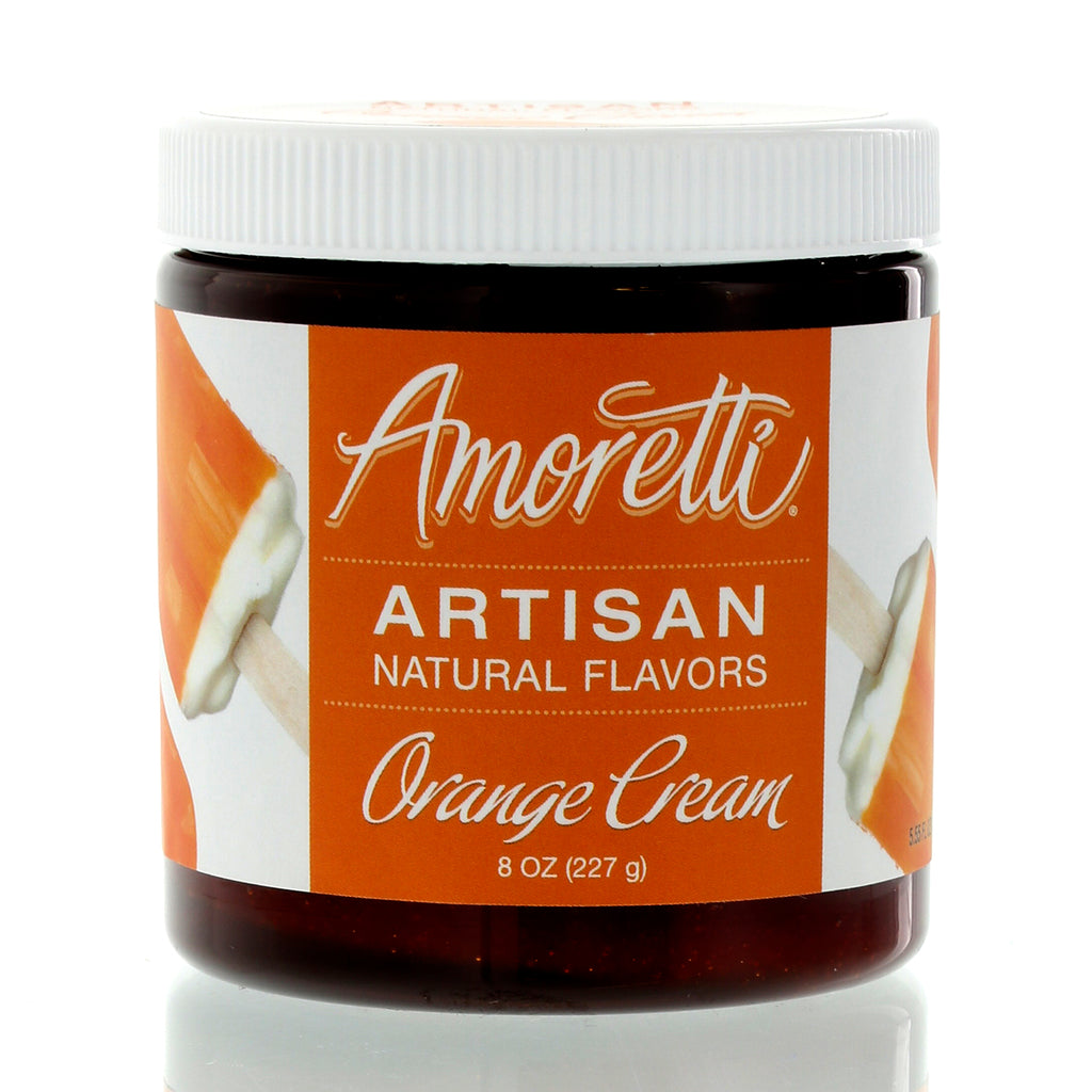 Amoretti Natural Orange Cream Artisan Flavor