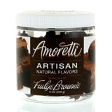 Amoretti Natural Chocolate Fudge Brownie Artisan Flavor