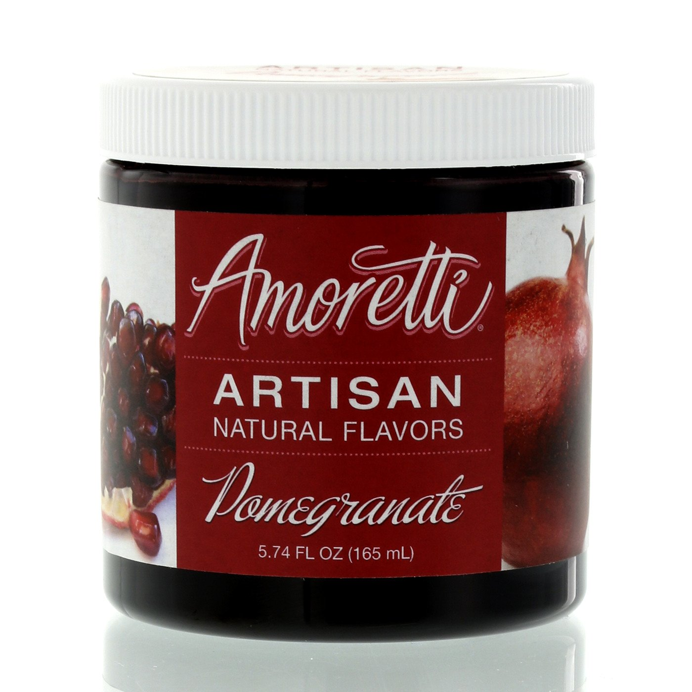 Amoretti Natural Pomegranate Artisan Flavor