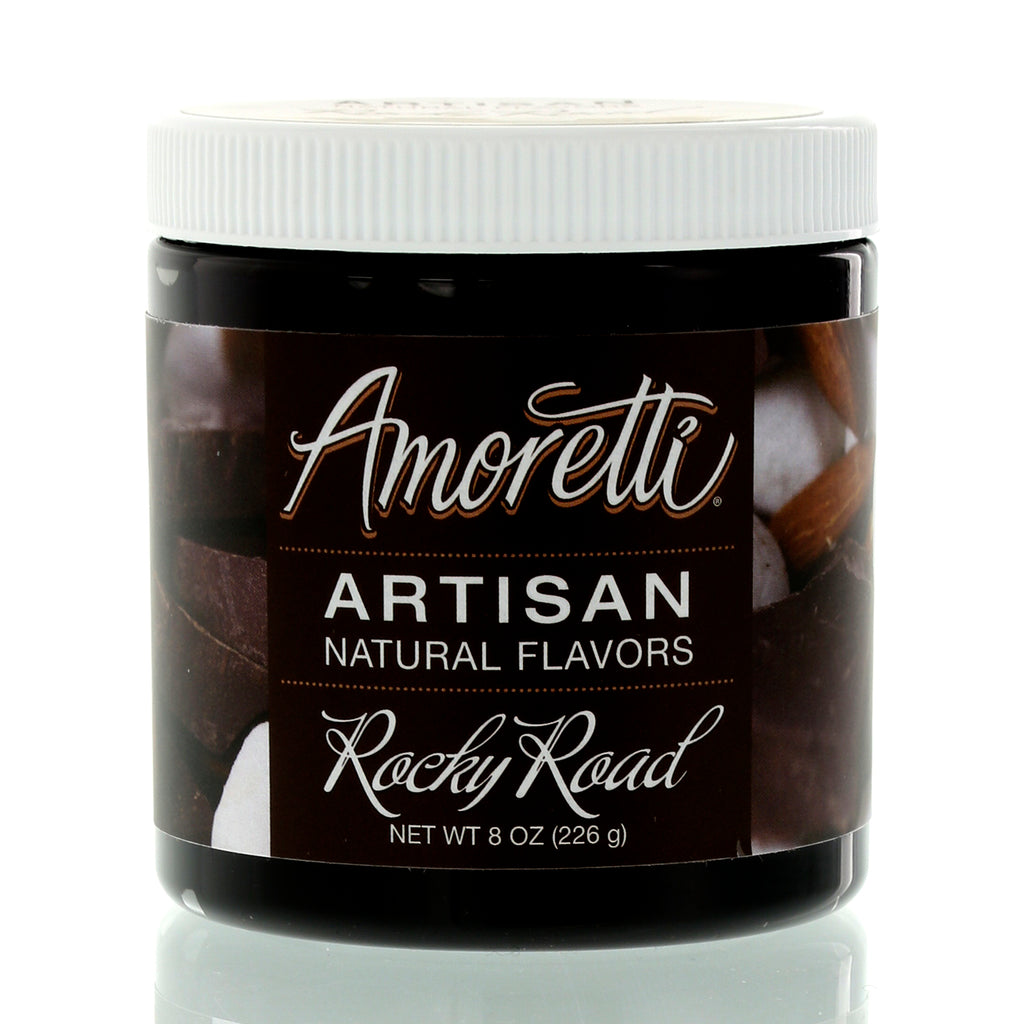 Amoretti Natural Rocky Road Artisan Flavor