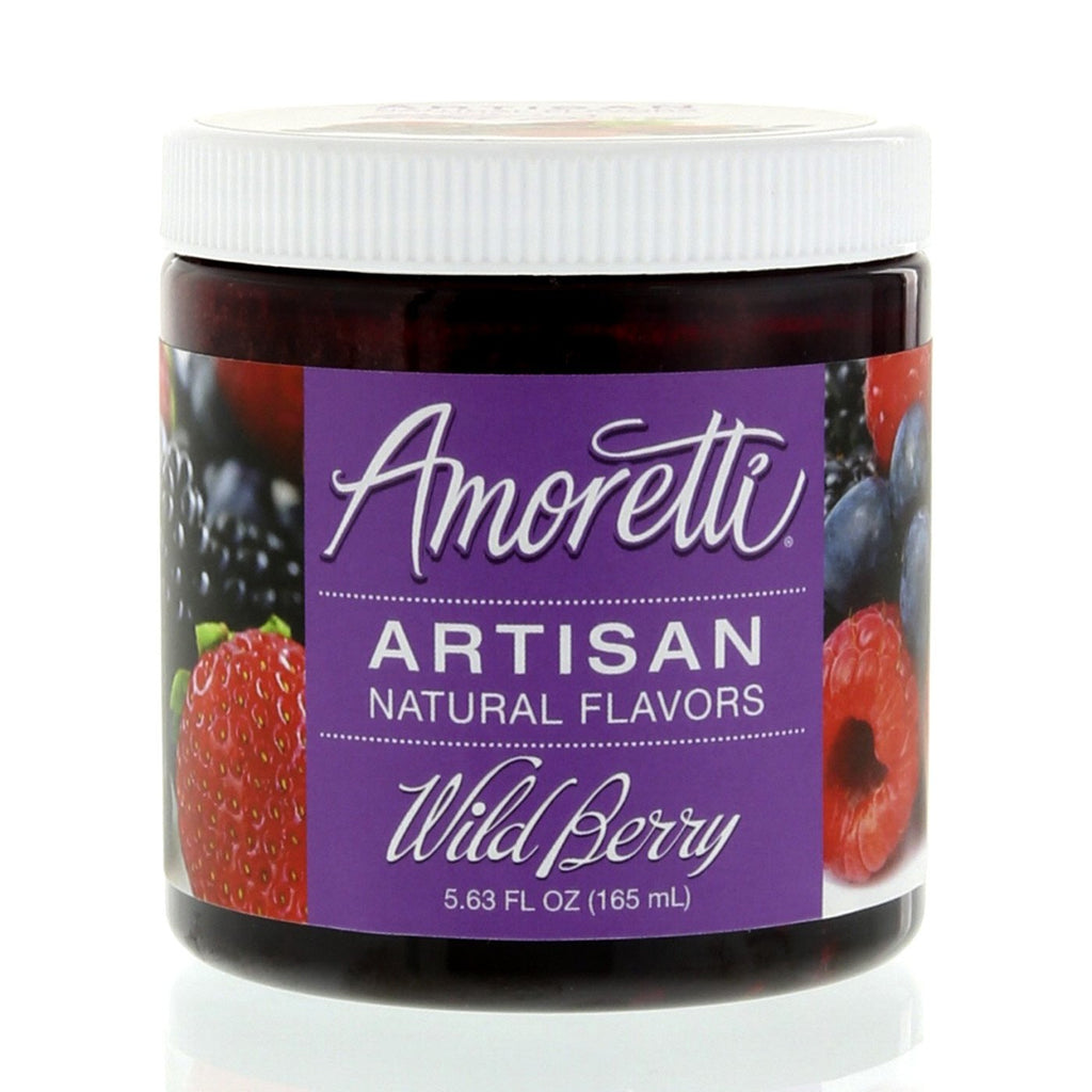 Amoretti Natural Wild Berry Artisan Flavor