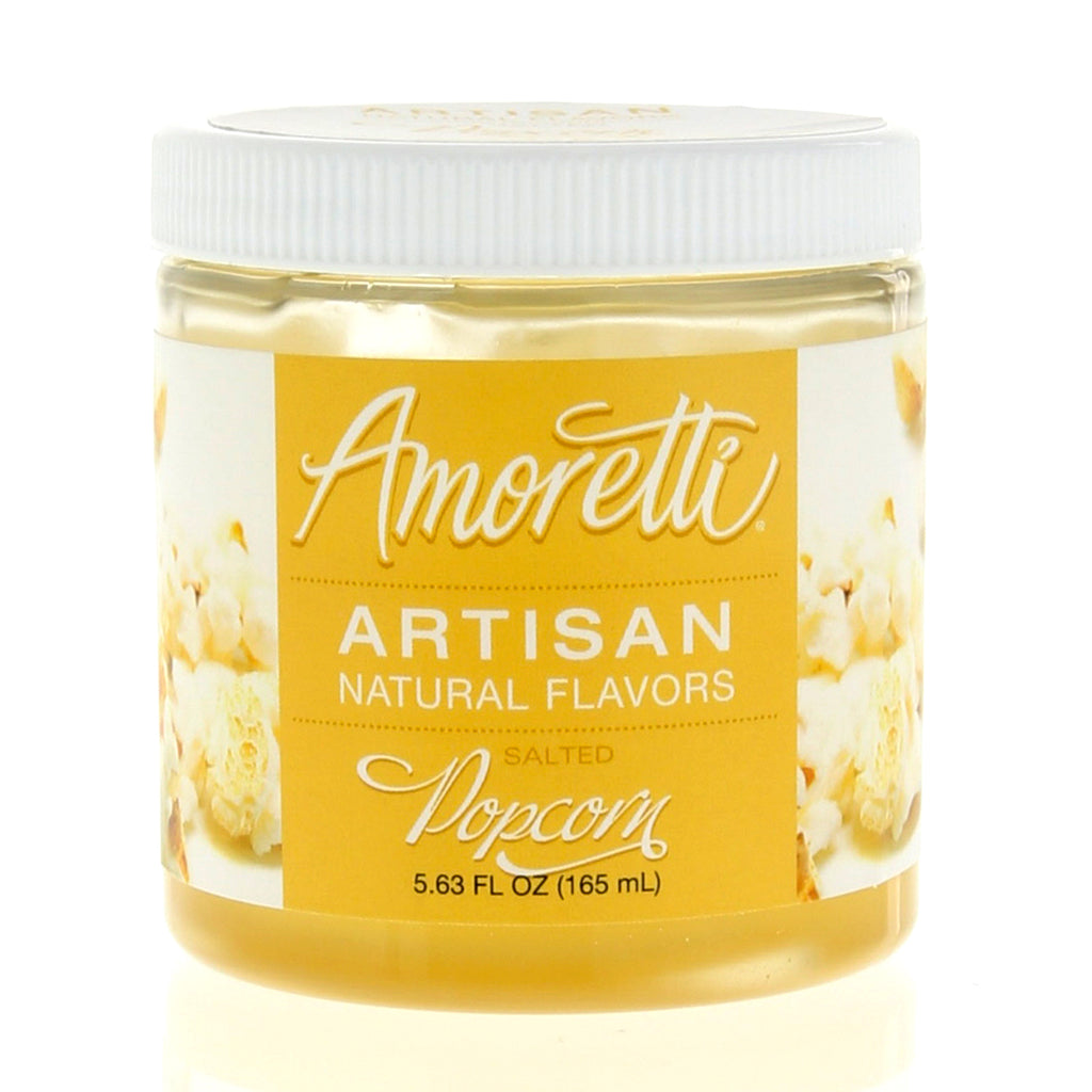 Amoretti Natural Salted Popcorn Artisan Flavor