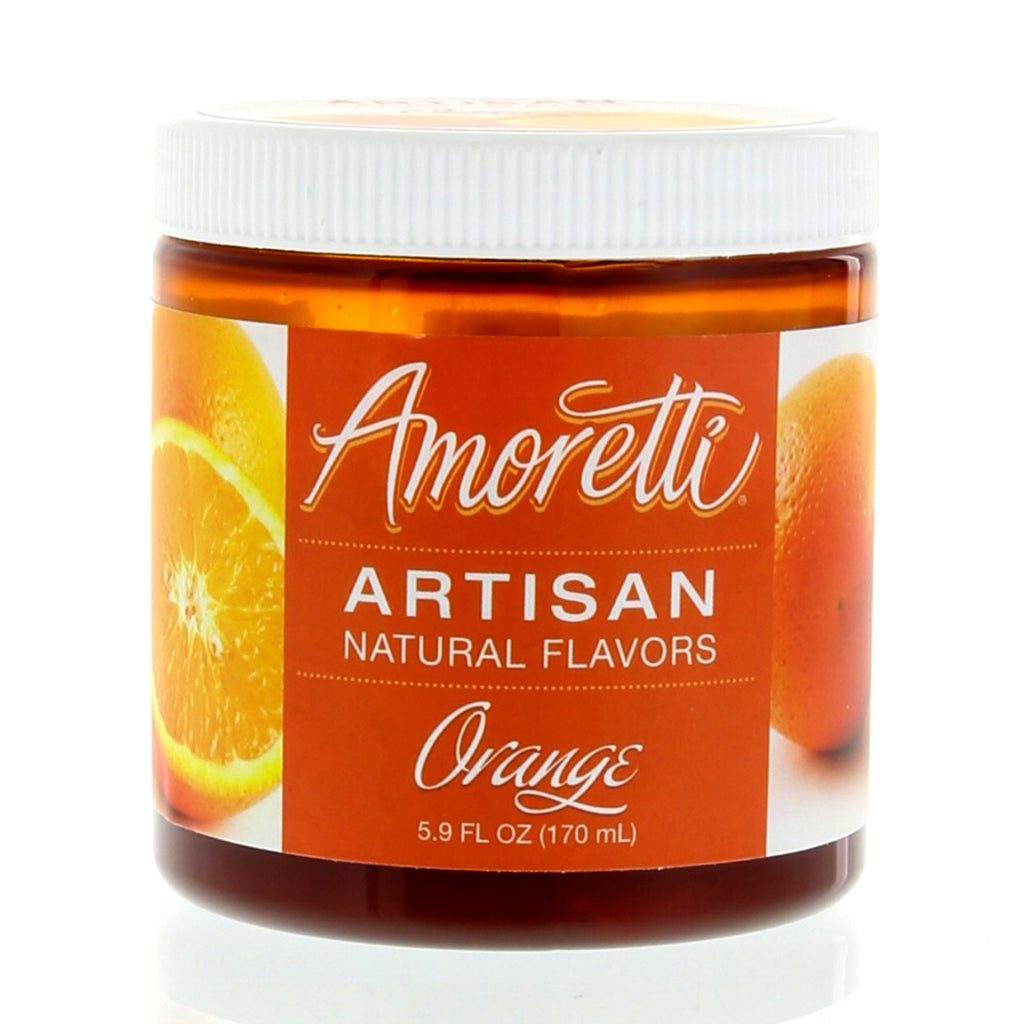 Amoretti Natural Orange Artisan Flavor