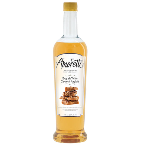 Amoretti Premium English Toffee Syrup