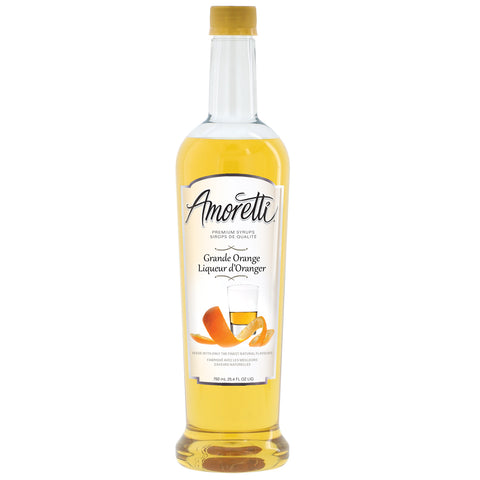 Amoretti Premium Grand Orange Syrup