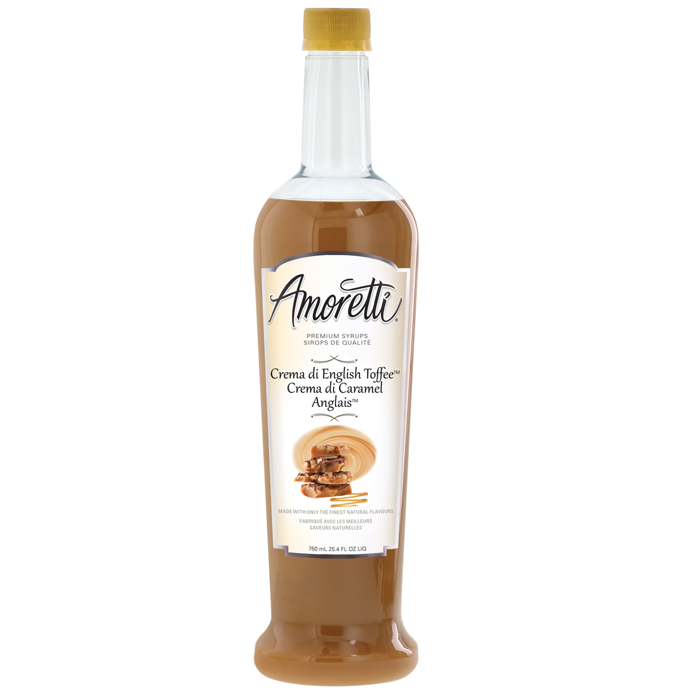 Amoretti Premium Crema Di English Toffee Syrup