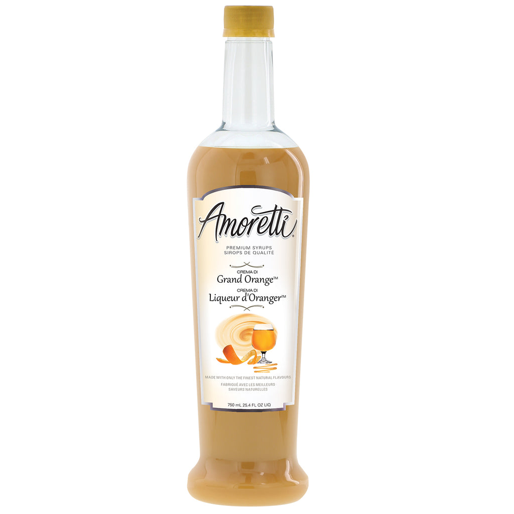 Amoretti Premium Crema Di Grand Orange Syrup