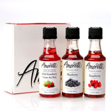 Amoretti Premium Berry 3 Pack 50mL Syrups