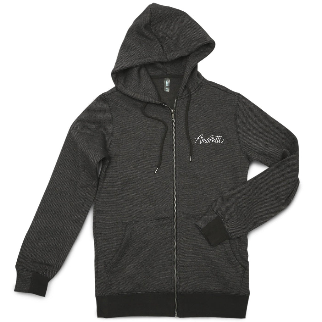 Amoretti Black and Gray Hoodie