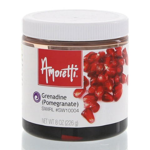 Amoretti's Grenadine (Pomegranate) Swirl takes all the hard work out of enjoying the sweet-tart taste of pomegranate.