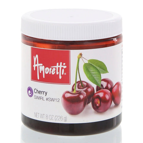 Amoretti's Cherry Marbleizing Swirl is deliciously sweet and irresistibly tart.
