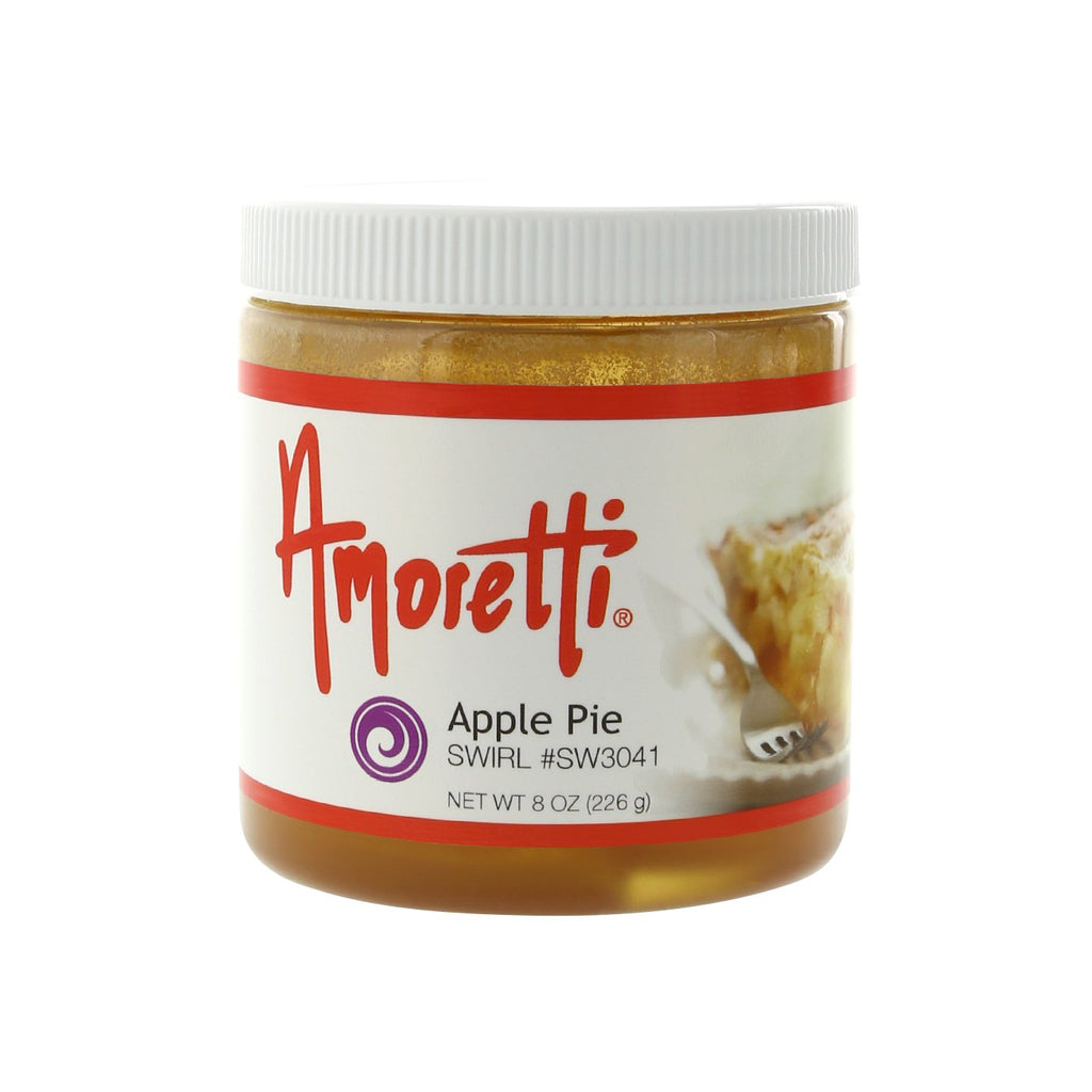 Amoretti Apple Pie Marbleizing Swirl