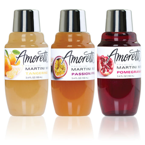 Amoretti Martini Mix 3 Pack Exotic Minis