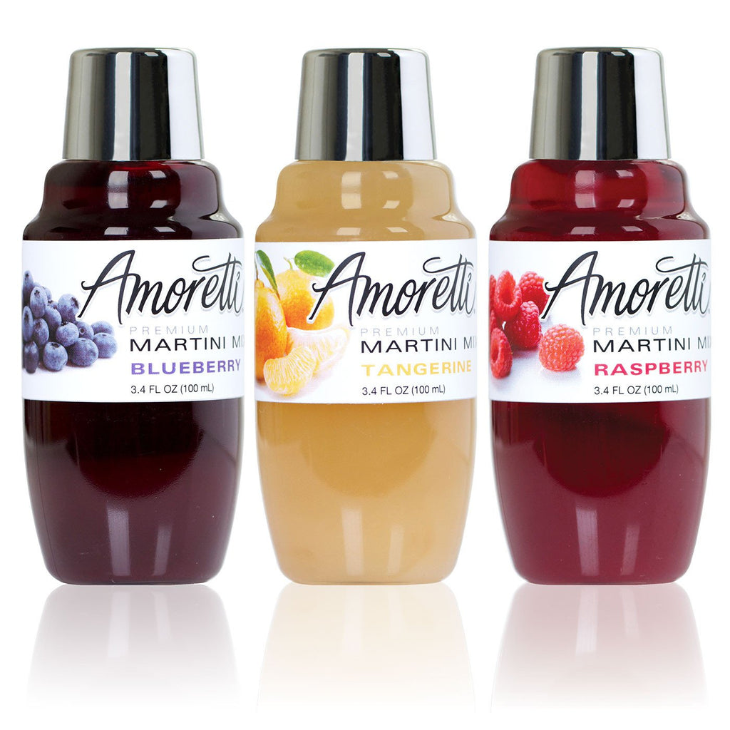Amoretti Martini Mix 3 Pack Summer Minis