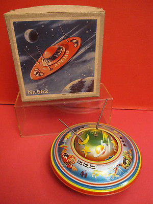 BS BLOMER SCHULER 562 SPACE SAUCER West Germany 1960 MINT + BOX