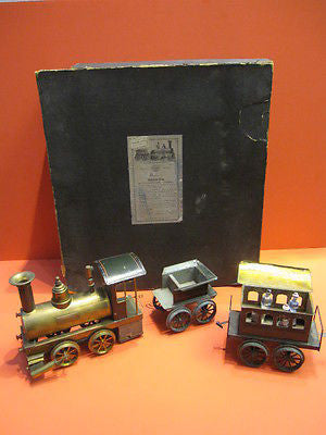 PLANCK Live Steam VULKAN Train GAUGE III 1895 Boxed set