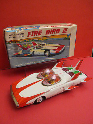 ALPS FIREBIRD III GM Racing car + original box 1960