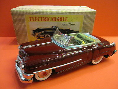 NOMURA TN ELECTRIC MOBILE CADILLAC 1952 Mint + original box