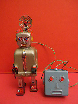 NOMURA RADAR ROBOT space tin toy MADE IN JAPAN 1956