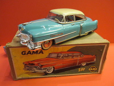 GAMA 300 CADILLAC Turquoise & Cream MINT + original box 1952 VUITTON LV