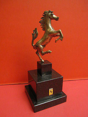 FERRARI Original Factory Trophy JACQUES SWATERS 1960
