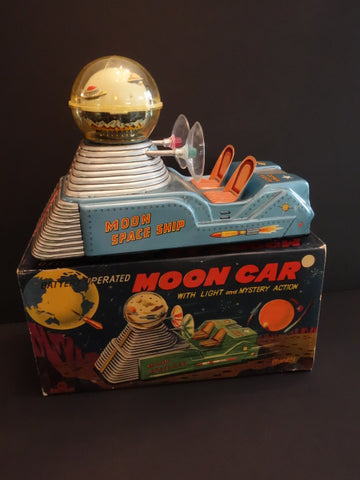NOMURA Moon Car Space Division #3 MINT + Original box 1955