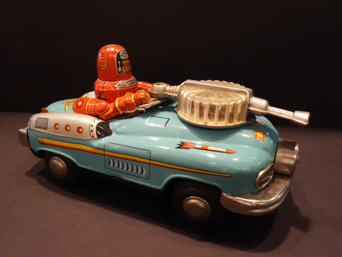NOMURA ROBBY STUDEBAKER SPACE PATROL CAR TN Japan 1956