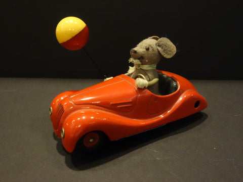 SCHUCO SONNY Mouse on car #2005 Original 1950