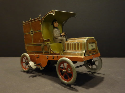 G&K GREPPERT & KELCH Delivery Car Germany 1910